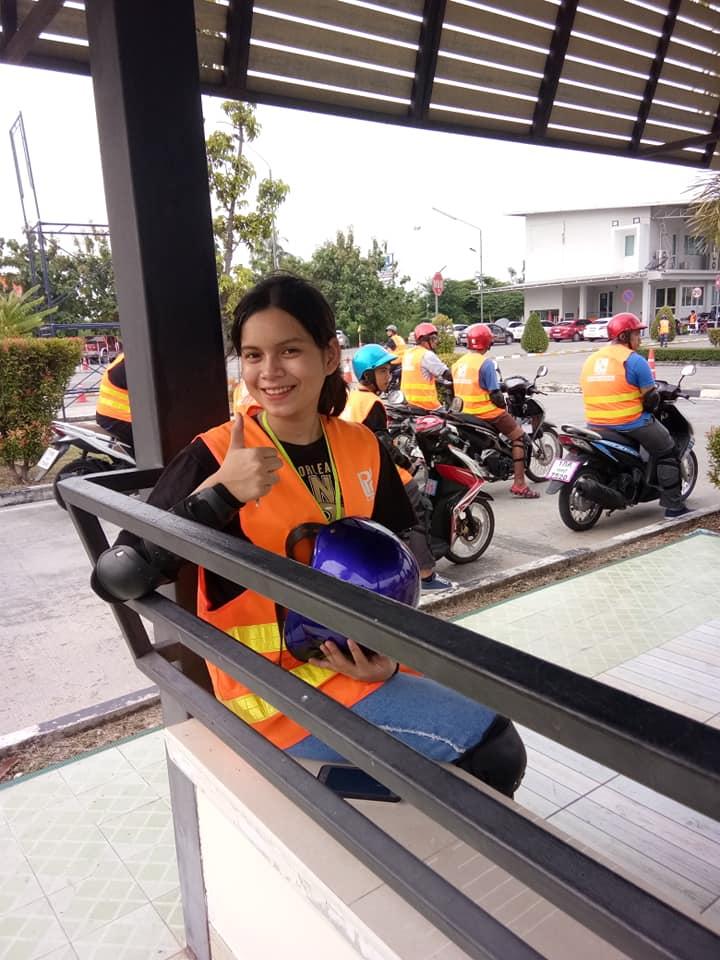 เรียนขับรถจักรยานยนต์