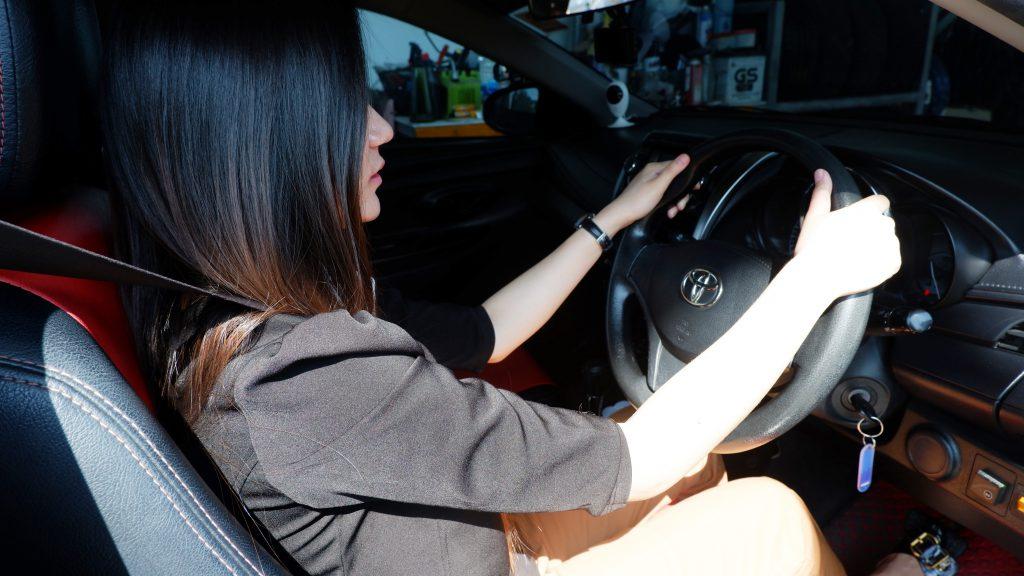 เรียนขับรถ