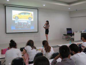 Driving license examination